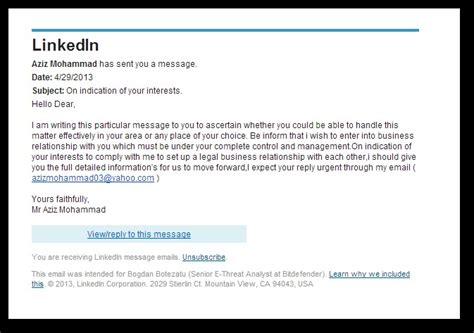 Bank Next Of Kin Letter Scammers Impersonate Bank Exec On Linkedin To Target Corporate Bank Accounts Hotforsecurity