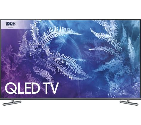 buy samsung qe55q6famt 55 quot smart 4k ultra hd hdr qled tv free delivery currys