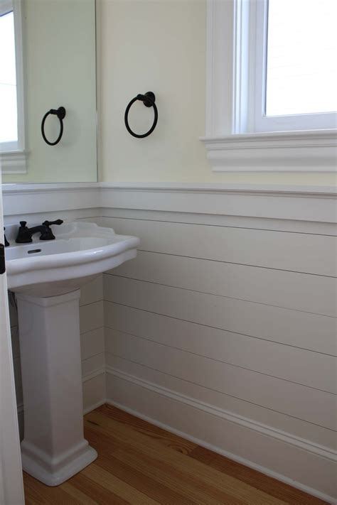 Installing Shiplap In Bathroom 20 Beautifully Smooth Streamlined Walls Designed By