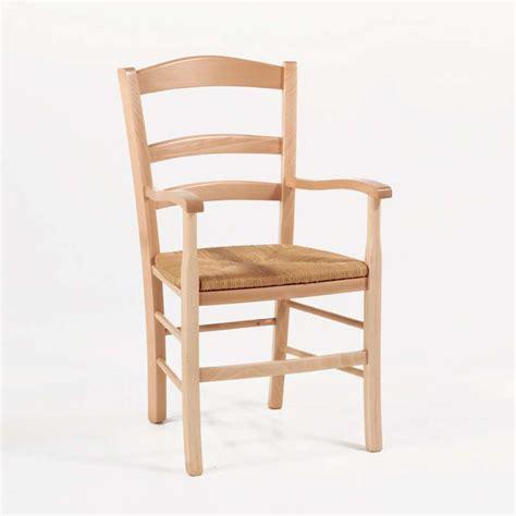 fauteuil en bois fauteuil en bois rustique et paille broc 233 liande 4 pieds tables chaises et tabourets