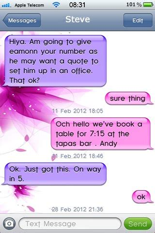 themes sms iphone pretty in pink sms theme thebigboss org iphone
