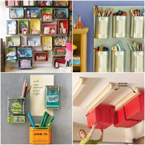 organization tips get organized 25 totally clever storage tips tricks