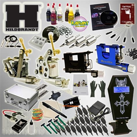 tattoo gun and kit the hildbrandt professional tattoo supply kit system 2