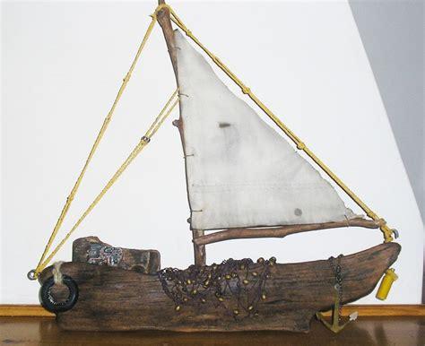 driftwood boats 13 best driftwood boats images on pinterest beach crafts