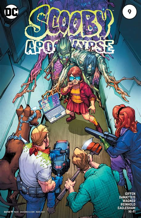 scooby apocalypse vol 1 scooby apocalypse vol 1 9 dc database fandom powered