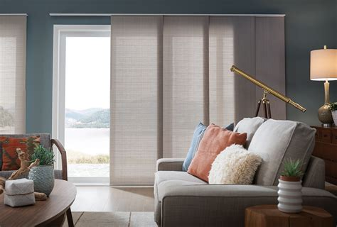 panel track blinds panel track shades comfortex window coverings