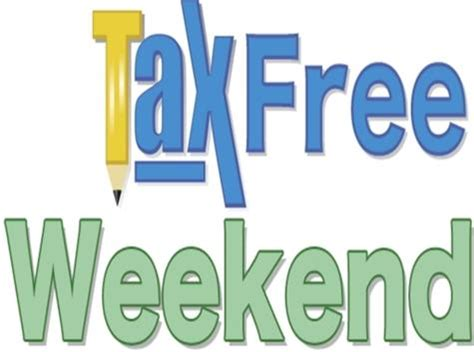 tax free weekend what to buy where to buy it