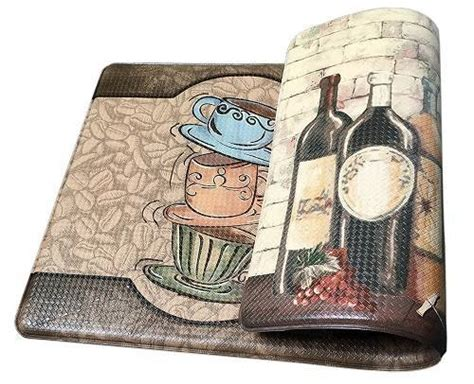 lovely  unique cushioned kitchen floor mats