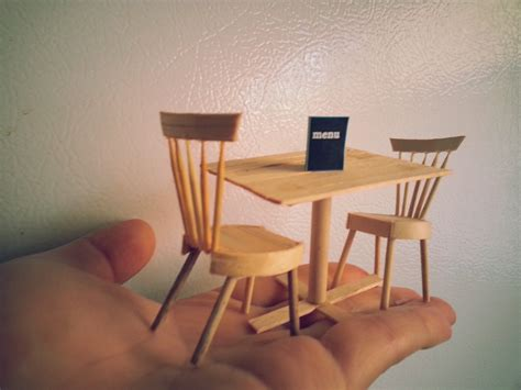 diy table and chairs diy miniature dining table and chairs