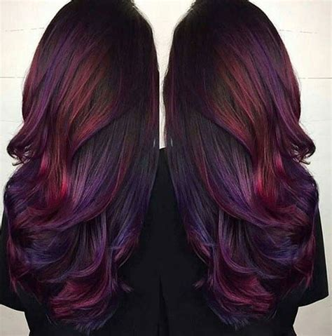 is rich learner dying his hair deep plum rich reds sectioned lowlights dyed hair