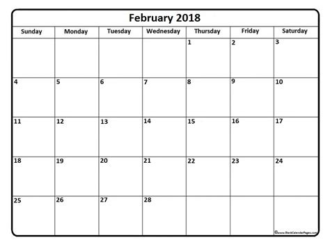 printable monthly calendar word document february 2018 calendar word 2018 calendar with holidays