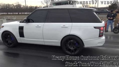 modified 2015 range rover 12sec range rover supercharged krazyhousecustoms custom