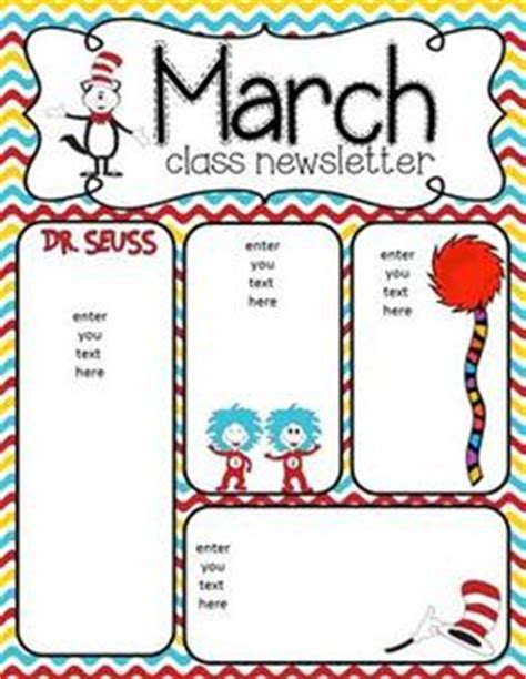 march newsletter template free january newsletter for all grades preschool pre k