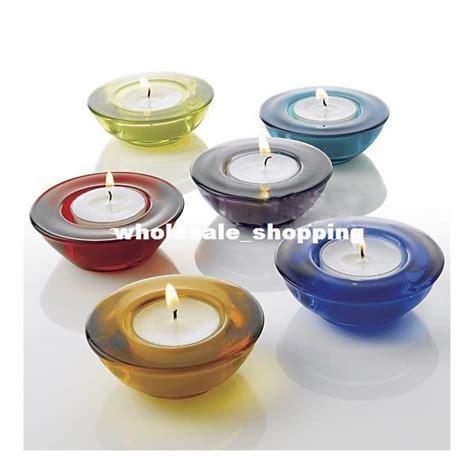 Flat Candle Holders by Candle Holder Glass Cup Flat Bottomed Wholesale Large