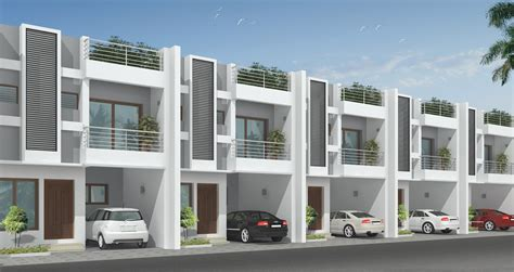 row home design news gallery dabc s habitat row houses in individual plots
