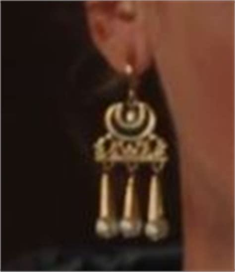 gladiator film jewellery earrings worn by lucilla connie nielsen from gladiator
