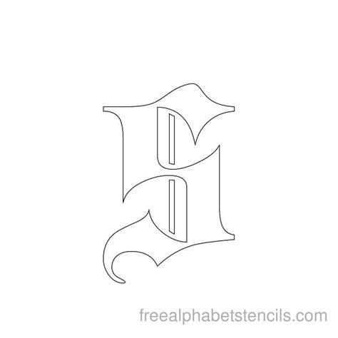 free printable gothic alphabet letters gothic alphabet stencils freealphabetstencils com