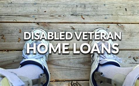 va loans for disabled veterans