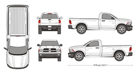 Mr Clipart Dodge Ram Wrap Template