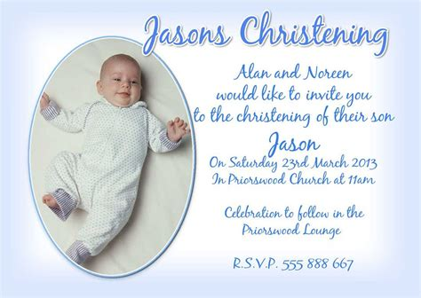 baby baptism invitations templates baby christening invitations wording baby boy