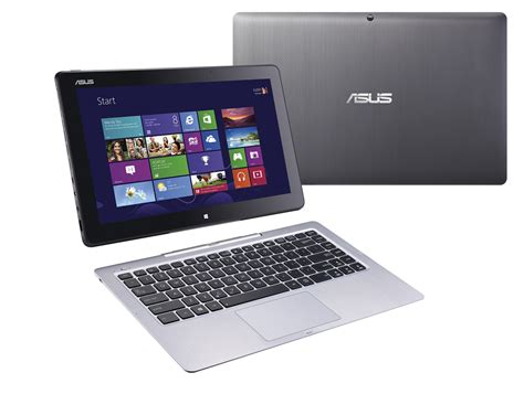 Laptop Asus Transformer Touchscreen asus demos two new zenbooks three transformers and an ultraportable laptop at ifa pcworld