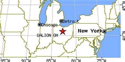 galion ohio map galion ohio oh population data races housing economy