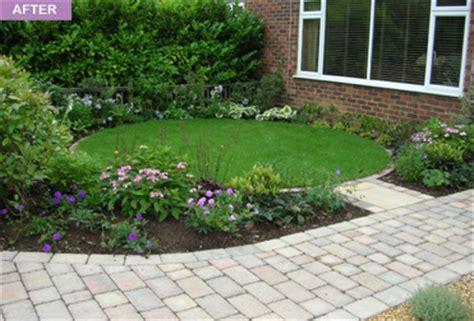 L Shaped Garden Design Ideas Webb Garden Designs
