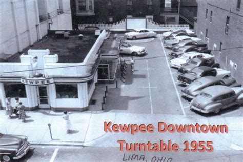 kewpee in lima ohio kewpee turntable 1955 lima ohio ohio and
