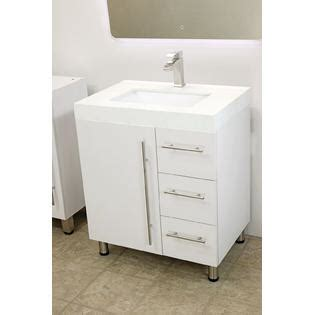 Free Standing Vanity Windbay 30 Quot Free Standing Bathroom Vanity Sink Set Vanities Sink White