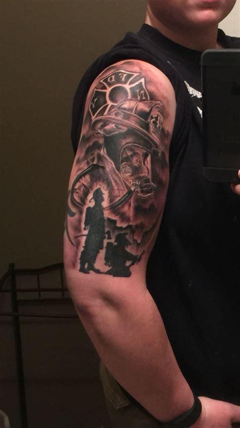 tattoo tony my firefighter emt s custom by mr tony