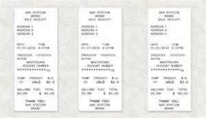 fuel receipt template expressexpense custom receipt maker receipt