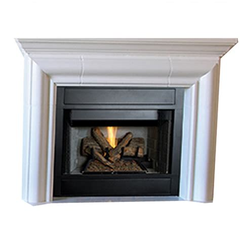 B Vent Fireplace by Ihp Superior Brt2032tmn 32 Quot Ng Mv Fireplace Wht Brck Hr