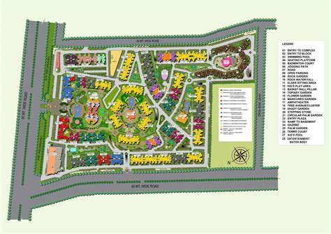 Eco Friendly House Floor Plans by Supertech Ecovillage 1 Bhk Apartments In Noida Extension