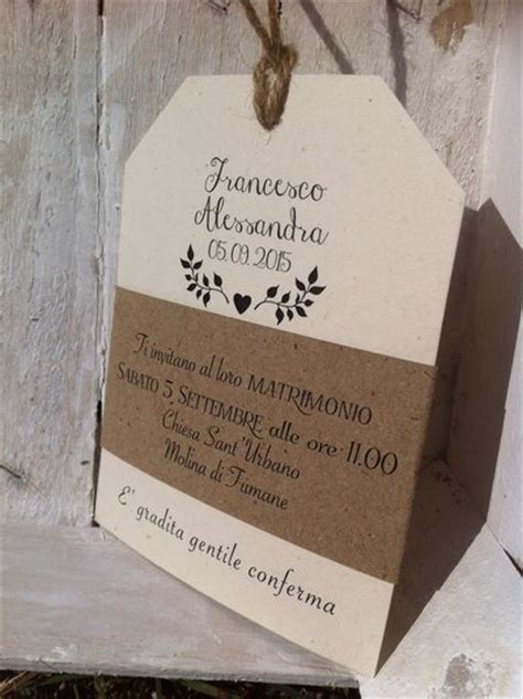 A Place Libretto Tag Partecipazioni Save The Date Country Chic Rustic Modell Su Misshobby
