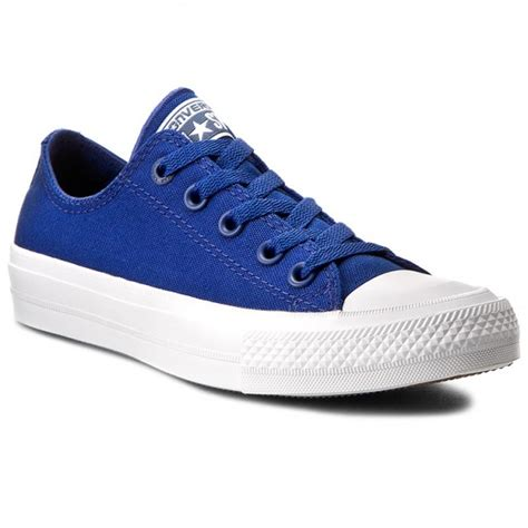 Converse Ct Low Series Blue Navy sneakers converse ct ii ox 150152c sodalite blue white navy sneakers low shoes s