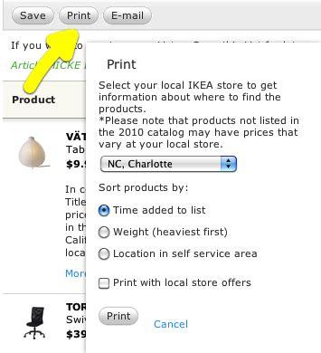 ikea printable shopping list pricing ordering nc modern furniture