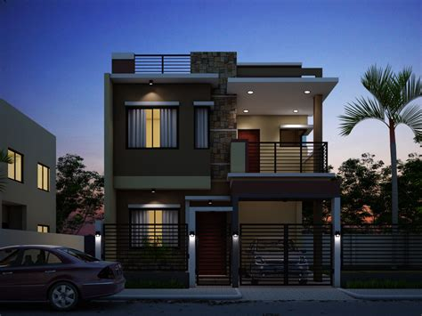 House Plans Beach small double storey house plans narrow best house design
