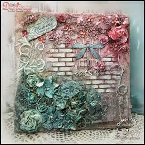 Decoupage Painting Techniques - 25 best ideas about mixed media canvas on