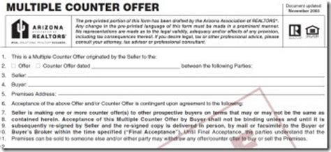 Counter Offer Letter Lease Agreement Can I Get Proof Of A Competing Offer The Answer May You The Real Estate