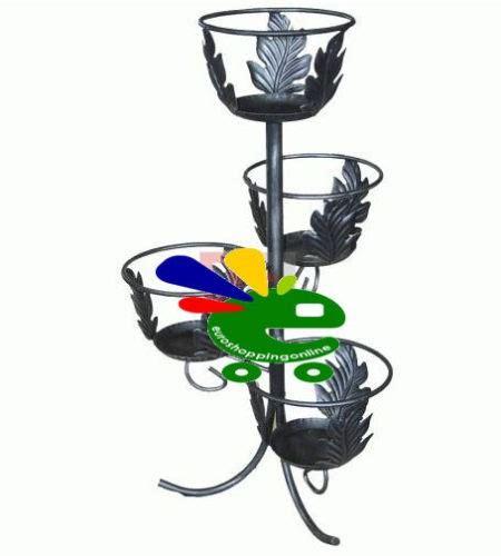 porta vasi in ferro battuto portavaso porta vaso fioriera per giardino e terrazzo 4