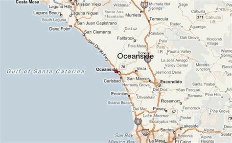 oceanside california map oceanside location guide