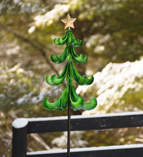 christmas tree wind spinner so that s cool