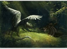G-Enyo-Young Gryphon-1 by fancypigeon.deviantart.com on ... Flying Pig Drawing