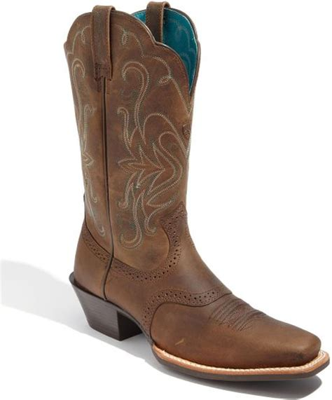 ariat legend boot in brown distressed brown lyst