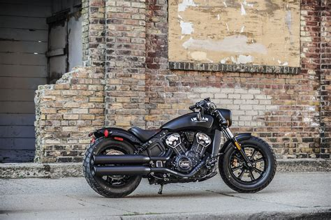 2018 Indian Scout Bobber first ride review   RevZilla