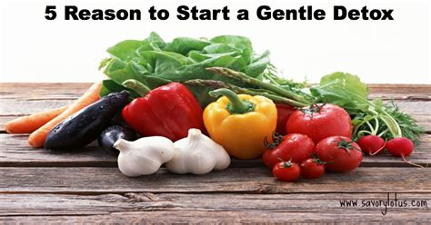How To Start A Detox by 5 Reasons To Start A Gentle Detox Savory Lotus