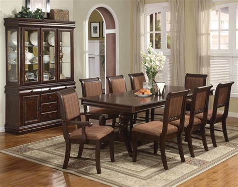 Dining And Living Room Sets Crown Merlot Dining Room Set Dining Room Sets