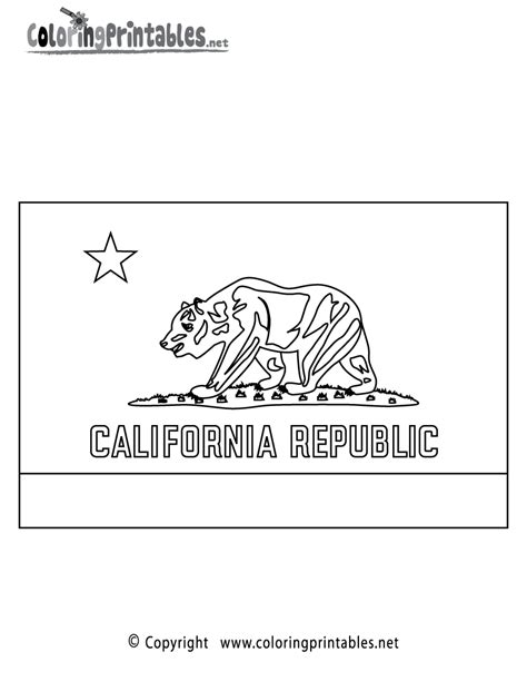 california flag coloring page a free travel coloring