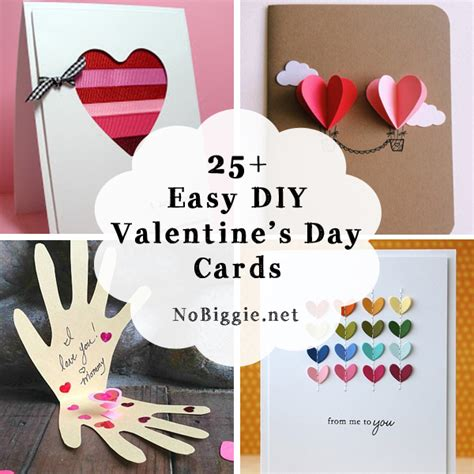ideas valentines day 25 easy diy s day cards