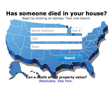 buying a house someone died in i want to know if anyone died in my house how do i get that information blurtit
